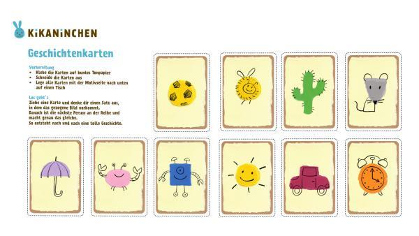 Geschichtenkarten | Rechte: KiKA, Katrin Lahr, Franziska Spanger