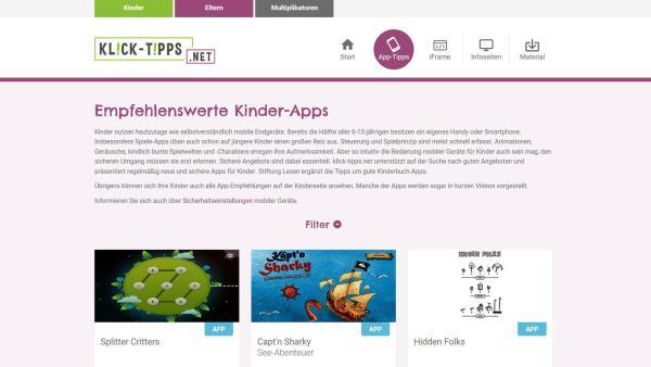Screenshot von klick-tipps.de | Rechte: KiKA