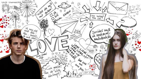 Collage mit zwei Teenagern, Sprüchen und Sprechblasen | Rechte: KiKA/Anne C. Brantin/Oliver Ragfell/Fineas Gavre (Unsplash)