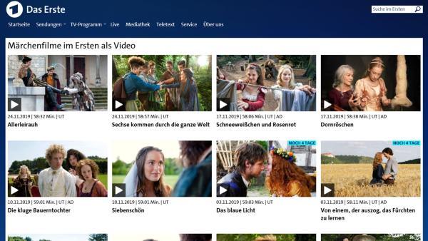 Screenshot Märchen bei Das Erste | Rechte: KiKA
