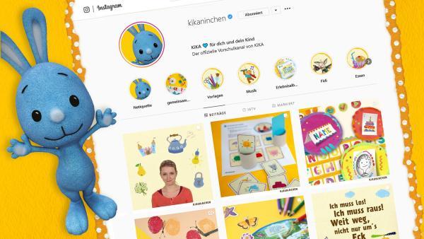 Schau dir unseren neuen KiKANiNCHEN-Kanal auf Instagram an. | Rechte: KiKA