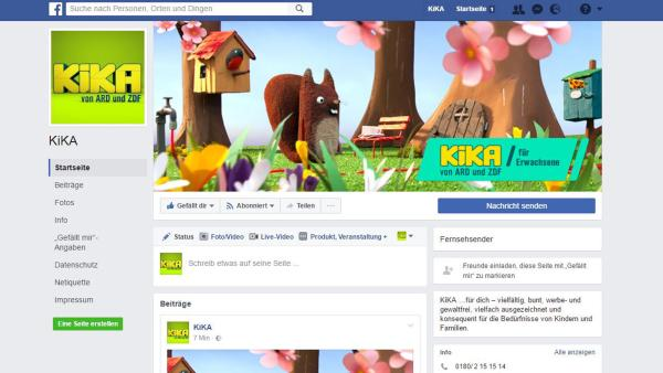 KiKA auf Facebook | Rechte: Screenshot Facebook