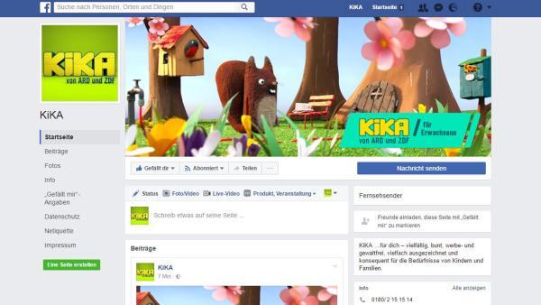 KiKA auf Facebook | Rechte: Screenshot Facebook