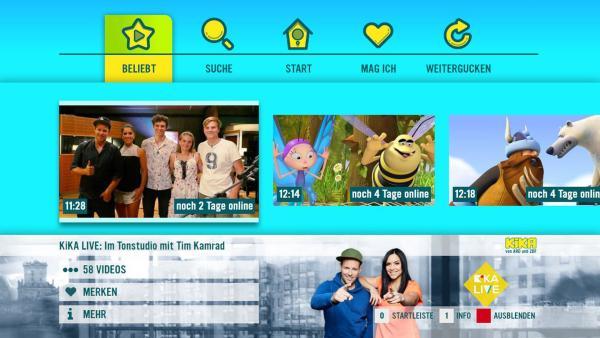 HbbTV | Rechte: KiKA