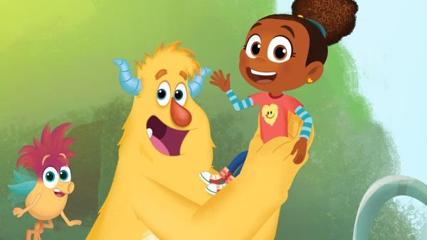 Esme und Roy sind die beliebtesten Monstersitter in Monstertal, einem Örtchen das fast ausschließlich von Monstern bewohnt wird. | Rechte: KiKA/Nelvana