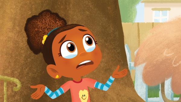 Esme hat einen Monstersitter-Zusammenbruch. | Rechte: KiKA/Nelvana
