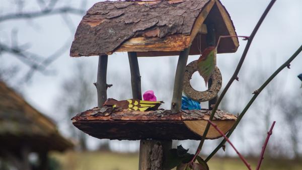 Die Papiervögel sind eingezogen. | Rechte: KiKA/Kinderfilm GmbH 2017