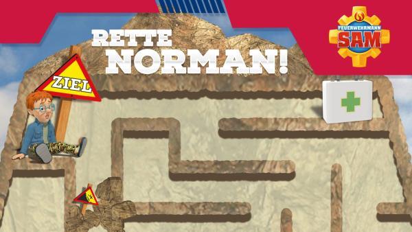 Labyrinth Feuerwehrmann Sam | Rechte: KiKA/HIT Entertainment