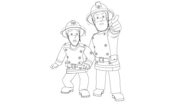 Feuerwehrmann Sam und Elvis sind im Einsatz | Rechte: Prism Art & Design, HIT Entertainment