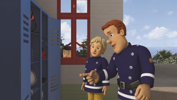 Sam und Penny machen eine Inventur.   Rechte: KiKA/2011 Prism Art & Design Limited