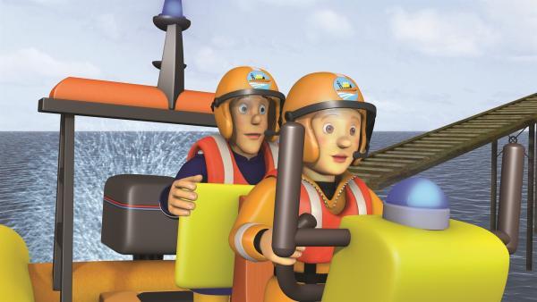 Werden Penny und Feuerwehrmann Sam es schaffen, Mandy zu retten? | Rechte: KiKA/2011 Prism Art & Design Limited