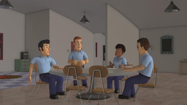 Sam und sein Team brauchen einen Ersatz für Penny, die auf einer anderen Feuerwehrwache aushilft.  | Rechte: KiKA/Prism Art & Design Limited