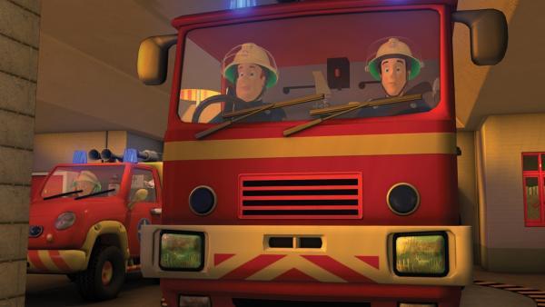 Feuerwehrmann Sam, Elvis und Penny rücken aus! | Rechte: KiKA/HIT Entertainment