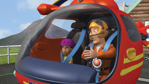 Tom und Mandy sind auf der Suche nach Norman Price. | Rechte: KiKA/HIT Entertainment