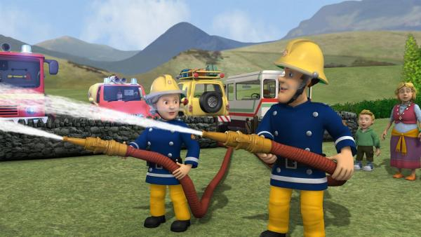 Toms Gasflaschen drohen zu explodieren. | Rechte: KiKA/HIT Entertainment