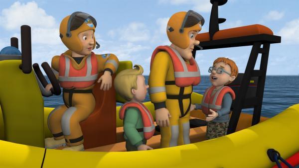 Norman muss einsehen, dass auch er nicht gerade der fähigste Kapitän ist. | Rechte: KiKA/HIT Entertainment