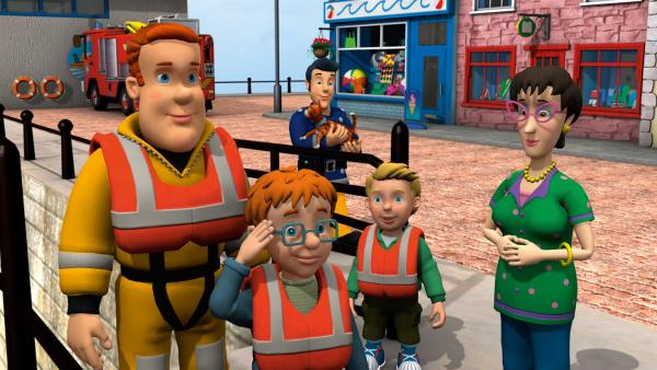 Gott sei Dank, Norman und James sind gerettet. | Rechte: KiKA/HIT Entertainment