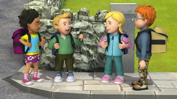 Die Pontypandy Pfadfinder wollen einen Ausflug machen. | Rechte: KiKA/HIT Entertainment