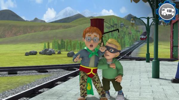 Vorsicht an Bahngleisen | Rechte: KiKA