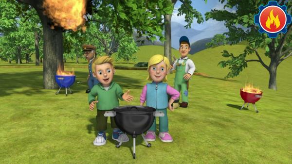 Sicherheit beim Grillen | Rechte: KiKA