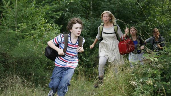 "Richard hat die Familie entdeckt. Da heißt es: ""Nichts wie weg!"" | Rechte: KiKA/ASA Film Production/Scanbox Entertainment"