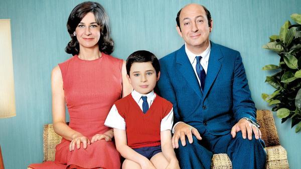 Der kleine Nick (Maxime Godart, Mitte) liebt seinen Papa (Kad Merad) und seine Mama (Valérie Lemercier). | Rechte: ARD Degeto/Fidélité Productions/Wild Bunch