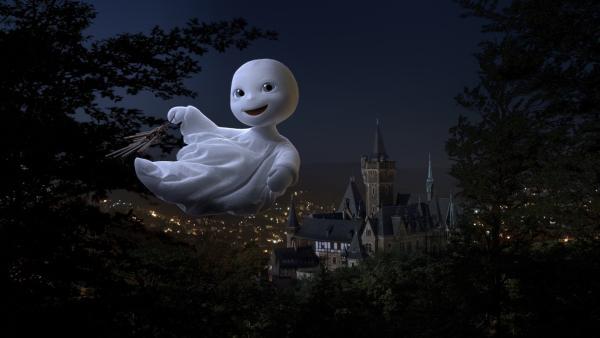 Das kleine Gespenst erwacht zur Geisterstunde. | Rechte: ZDF/Universum Film