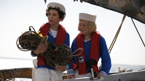 Per (Kasper Ruwai Berg Kesje) und Tine (Lærke Tuemand) – eine Freundschaft mit kleinen Umwegen.    Rechte: KiKA/ASA Film Prod. A/S & Scanbox Entertainment A/S 2012