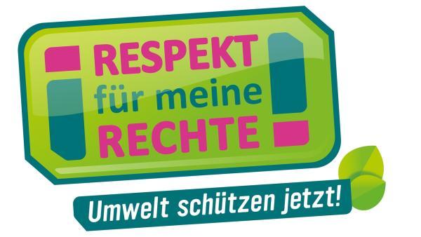 Respekt für meine Rechte-logo! Umwelt schützen jetzt! | Rechte: KiKA