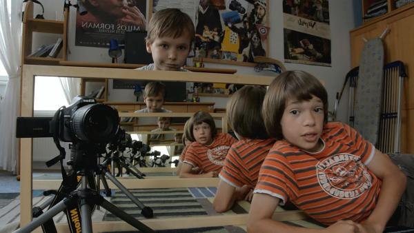 Thomas und Harris haben Großes vor: sie wollen einen spannenden Film drehen. | Rechte: SWR/Bio Illusion