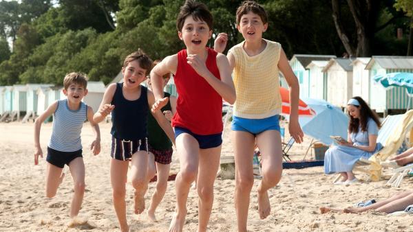 Der kleine Nick (Mathéo Boisselier, vorn) und seine Jungs | Rechte: WDR/Wild Bunch