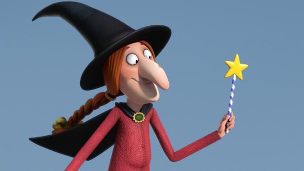 Ein Schlag mit dem Zauberstab und los geht's. | Rechte: ZDF/Orange Eyes Ltd