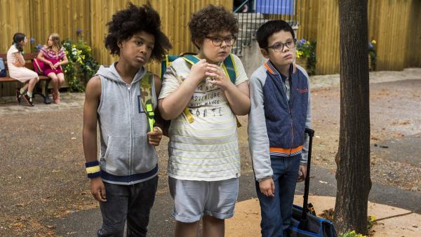 Spirous 3 beste Freunde.    Rechte: KiKA/Les Films du Cap Les Partenaires