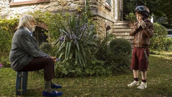 Spirou und Granpapy - sein Großvater.    Rechte: KiKA/Les Films du Cap Les Partenaires