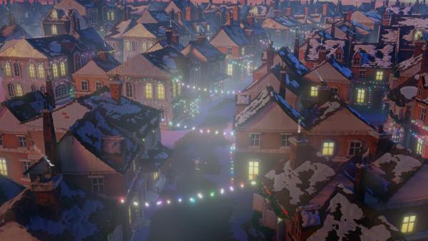 Henry hat es geschafft: die ganze Stadt ist festlich erleuchtet. | Rechte: KiKA/Dream Logic & Lupusfilm/Trickshot Films
