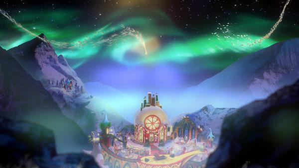 Die Wunschzettel der Kinder erreichen den Weihnachtsmann. | Rechte: KiKA/Dream Logic & Lupusfilm/Trickshot Films