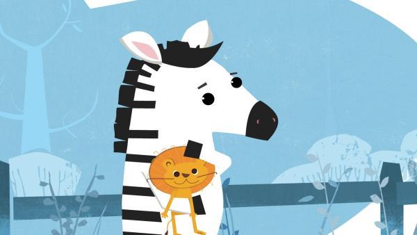 Das kleine Zebramädchen Zibilla erlebt ungewollt ein aufregendes Abenteuer. | Rechte: KiKA/Nadasdy Film Sarl