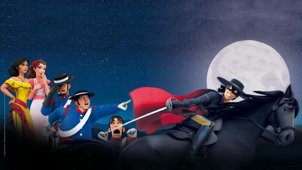 Zorro | Rechte: KiKA/Cyber Group Studios – Zorro Productions Inc.