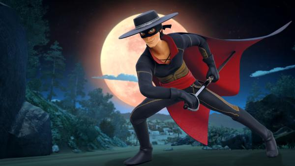 Zorro   Rechte: KiKA/Cyber Group Studios – Zorro Productions Inc.