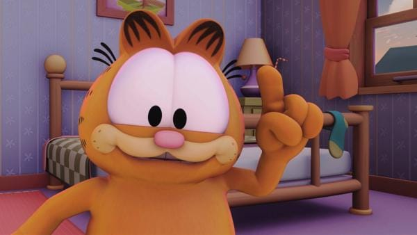 Garfield hat eine Idee. | Rechte: HR/Dargaud Media/MediaToon/Paws Inc./France 3