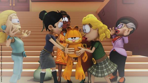 Garfield als Frauenschwarm   Rechte: HR/Dargaud Media/MediaToon/Paws Inc./France 3