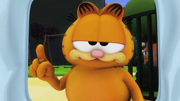 Garfield ist völlig übermüdet. | Rechte: HR/Dargaud Media/MediaToon/Paws Inc./France 3