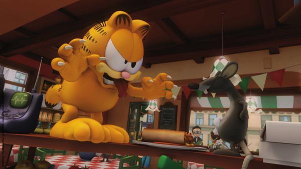 Garfield im Kampf gegen die Ratte | Rechte: HR/Dargaud Media/MediaToon/Paws Inc./France 3