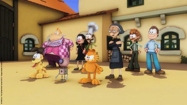 Die Lasagne-Crew | Rechte: HR/Dargaud Media/MediaToon/Paws Inc./France 3