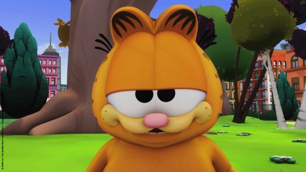 Garfield unter dem Eulenbaum   Rechte: HR/Dargaud Media/MediaToon/Paws Inc./France 3