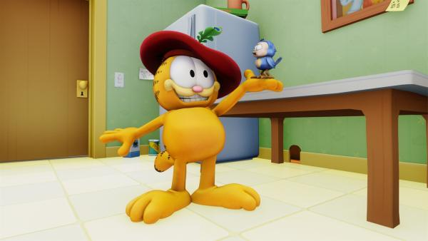 Garfield als Problemlöser | Rechte: HR/DARGAUD MEDIA