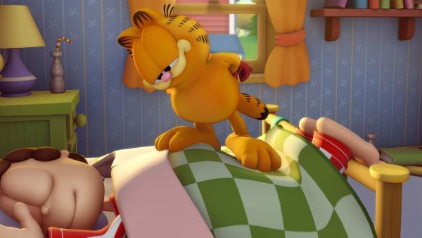 Jon hat Garfields Geburtstag vergessen. | Rechte: HR/DARGAUD MEDIA