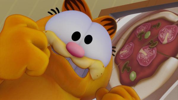Garfield plagen bereits Wahnvorstellungen. | Rechte: HR/DARGAUD MEDIA