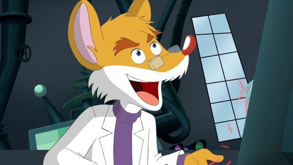 Professor von Volt hat eine Hirntauschmaschine erfunden. | Rechte: hr/Atlantyca Entertainment/Moonscoop