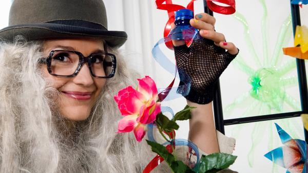 Uta Kargel als Loona Balloona | Rechte: SR/Manuela Meyer